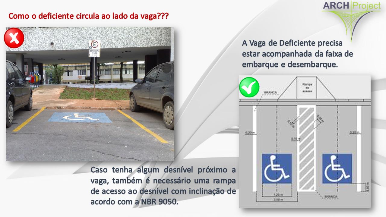 Acessibilidade - VAGA PNE