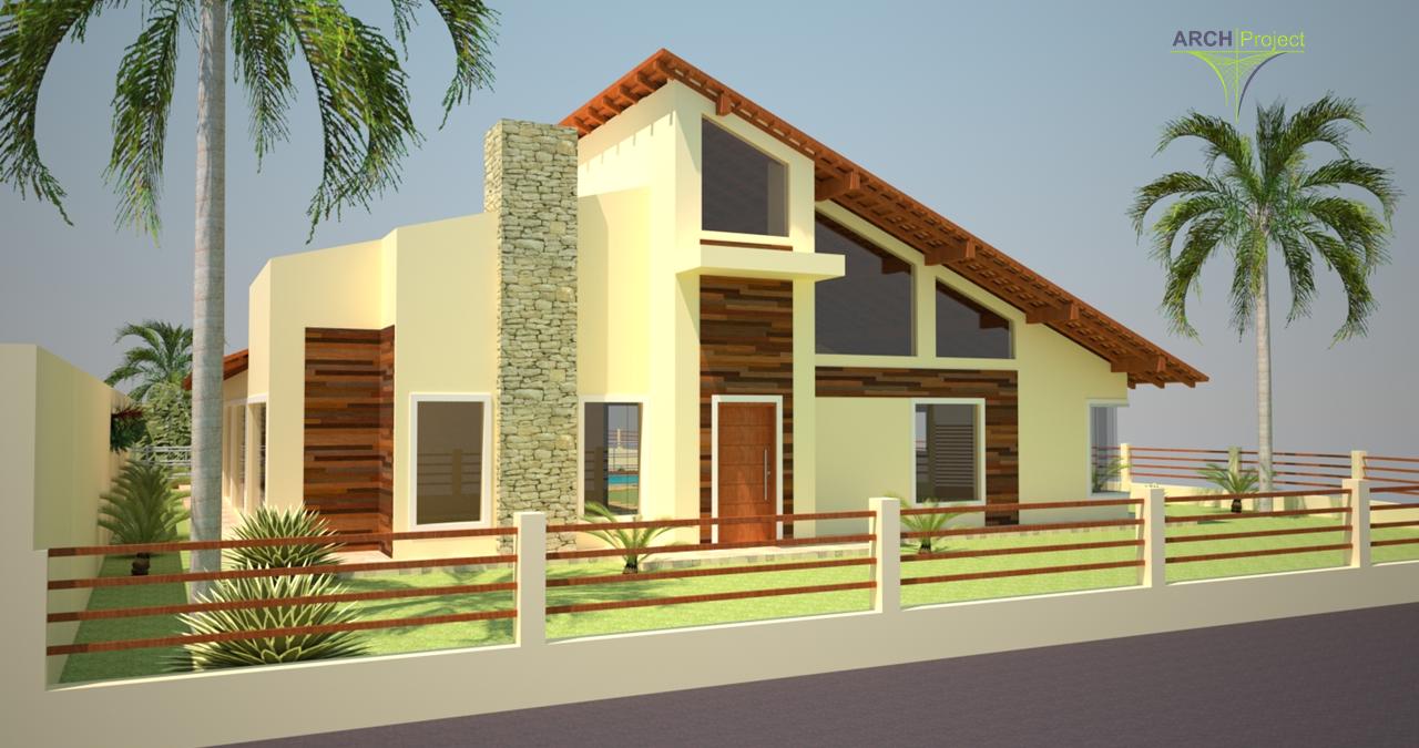 Projeto Arquitetônico - 3D