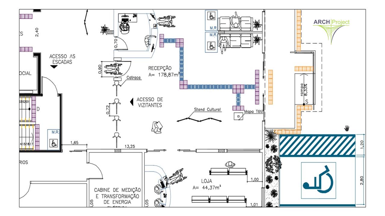 Escritório de Arquitetura - acessibilidade